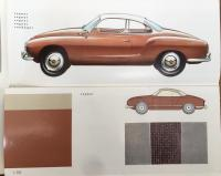 Cognac lowlight Karmann Ghia