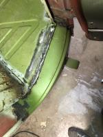 Lower dogleg repair