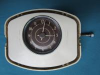 6.51 split beetle clock with early unpainted dash pod