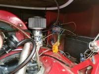 Installing the Kadrons and electric fuel pump