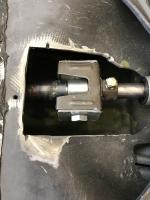 Welded late model shift coupler