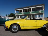 1971 Lemon Yellow L11E Karmann Ghia Convertible