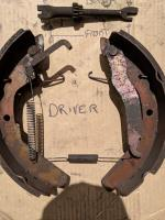 Brake shoes spring adjuster Orientation