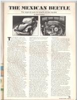 1983 Mexican Beetle write up