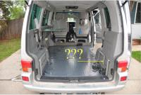 T4 weekender rear bed frame
