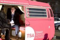 TSA - Tenant Services Authority's 1973 VW Type 2