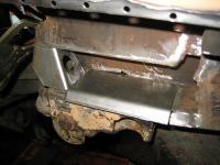 welding rear jacking point