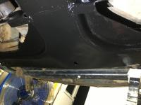 Painting undercarriage