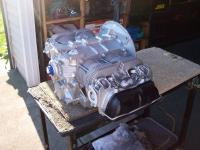 "Fuel-Injection ""AJ"" engine case from Craigslist"