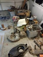 Parts pile