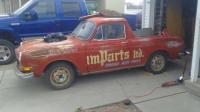 Squareback truck