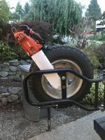 Chainsaw holder