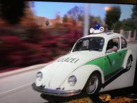 Polizei Beetle on Jay Leno's show