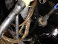 Oil leaking out of heads