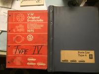 Type 4 parts and shop manuals