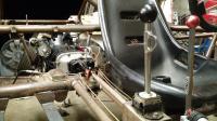 Chenowth 2rl welded frame Hurst shifter and 6-rib bus box