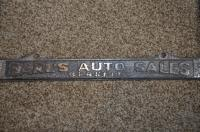 Plate Frame from Berlkeley, CA