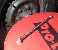 DIY rear brake spring tool...