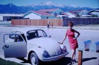 girls and their VWs in the '60s