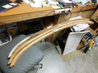 NOS set of Westfalia ceiling wooden bows.