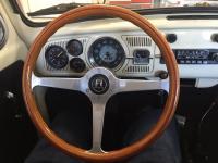 vintage momo steering wheel in 1967 bug