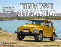 2019 Things West Calendar