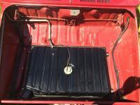 Fuel tank installed