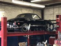 1968 Karmann Ghia Convertible Black