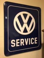 German 'Service' Dealer sign and makers mark