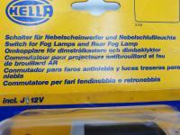 Hella VW Type 2 pattern, triple-throw fog-lamp switch