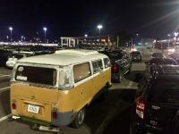 parking lot bus