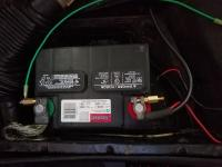 Battery Post Extension Bolts Installed
