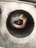 crack valve guide boss