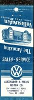 Somebody Posted an Old Ad for an Old Volkswagen Dealership, and The Car I currently own was services there Between 73-75