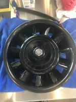 11 blade fan with liquid smoke