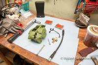 1971 Bus ATE brake caliper rebuild