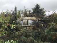 Camper deep in the bush