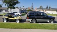 Manx/Corsair style dune buggy