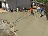 New VW shop cement & yard redid.