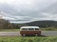 Air schooled road trip in the fall 2018