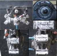 Porsche 4 Cam Resin Cast Engine