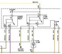 Jetta relay fuel pump