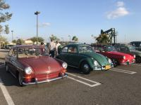 Notchback Row H2O Negative Squadron October Meet In N Out Burger Signal Hill, CA