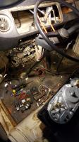 68 Bus Electrical Disassembled