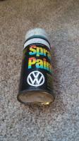 VW Spray Paint Can Niagara Blue L5D3