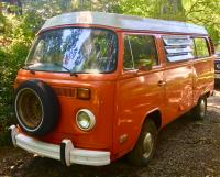 E's 73 Westfalia Camper, Orange
