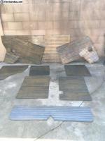 New wood paneling!