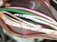 Wire harness slight damage