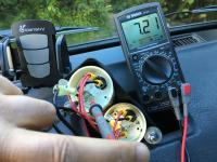 oil temp gauge install