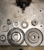 6V generator pulleys